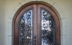 Custom Ornamental Front Door